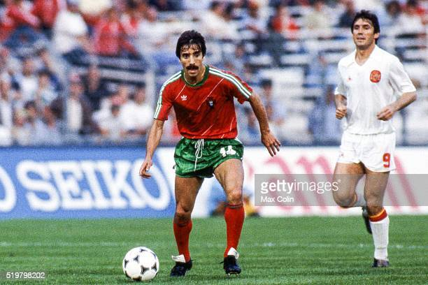 Antonio Frasco of Portugal during the Football European Championship between Portugal and Spain Marseille France on 17 June 1984