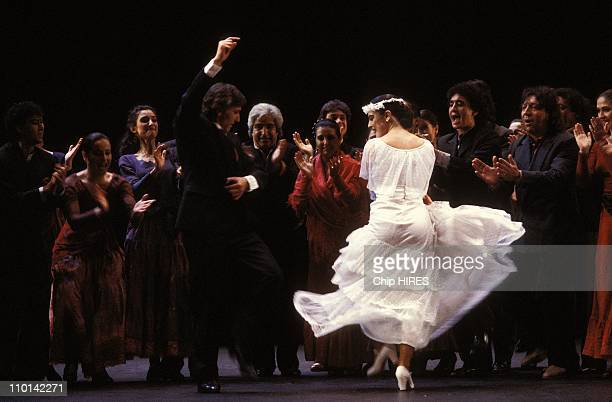 Antonio Gades at Chatelet in Paris France on January 26 1989