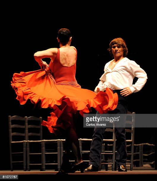 Antonio Gades Flamenco Company celebrates Carmen 25th Anniversary on May 13 2008 at the Albeniz Theatre in Madrid Spain