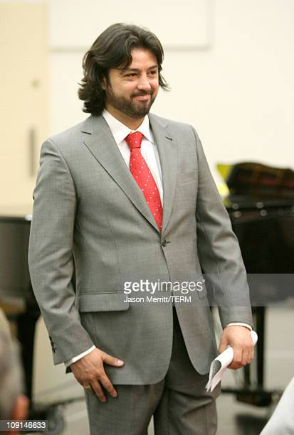 Antonio Gandia during Placido Domingo Introduces Artists for LA Opera's Company Premiere of 'Luisa Fernanda' at Los Angeles Opera in Los Angeles...