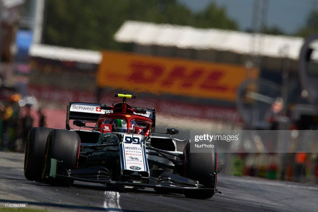 F1 Grand Prix of Spain - Practice : News Photo