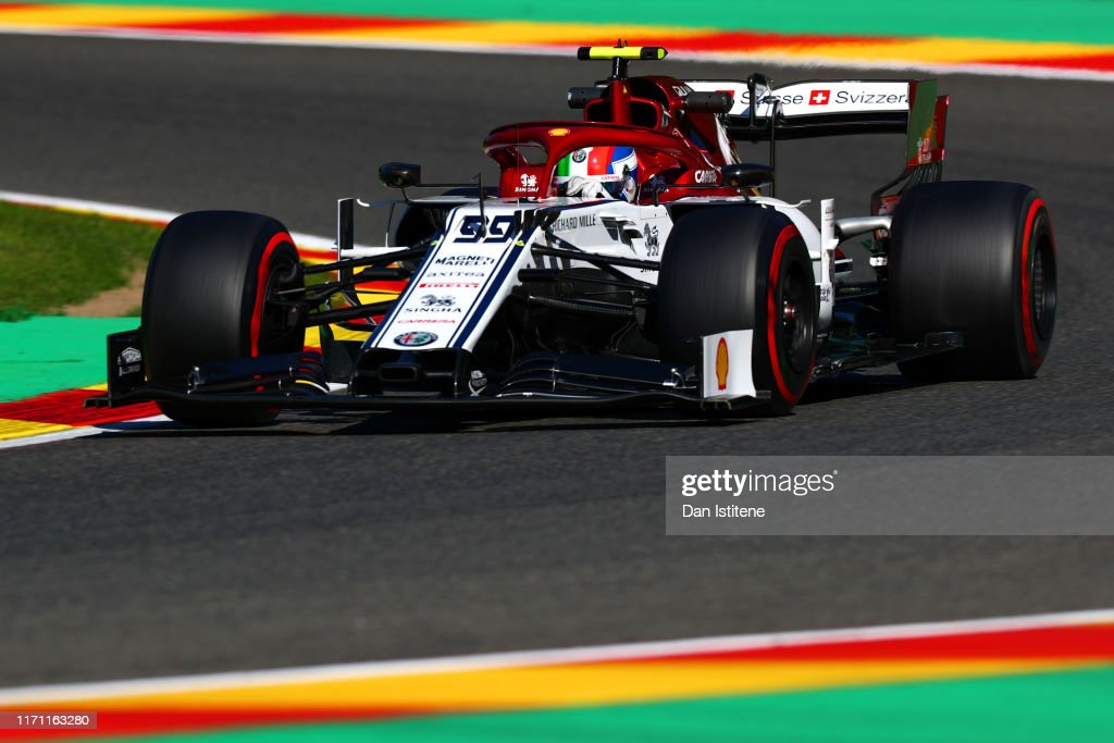 F1 Grand Prix of Belgium - Practice : News Photo