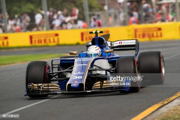 Antonio Giovinazzi Sauber F1 Team formula 1 GP Australien Melbourne