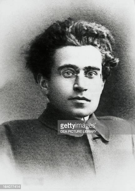 Antonio Gramsci Italian politician philosopher and literary critic one of the founders of the Italian Communist Party about 1920