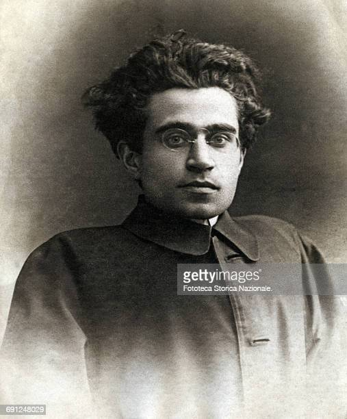 Antonio Gramsci politician before adhering to the Socialist Party then one of the founders of the Italian Communist Party in 1921 Portrait in...