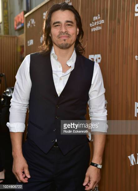 Antonio Jaramillo arrives at the premiere of FX's 'Mayans MC' at TCL Chinese Theatre on August 28 2018 in Hollywood California