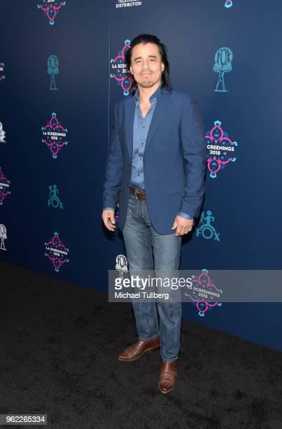 Antonio Jaramillo attends the 20th Century Fox 2018 LA Screenings Gala at Fox Studio Lot on May 24 2018 in Century City California
