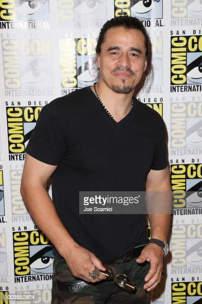 Antonio Jaramillo attends the 'Mayans' press line during ComicCon International 2018 on July 22 2018 in San Diego California