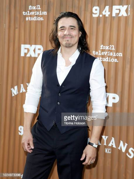 Antonio Jaramillo attends the premiere of FX's 'Mayans MC' at TCL Chinese Theatre on August 28 2018 in Hollywood California