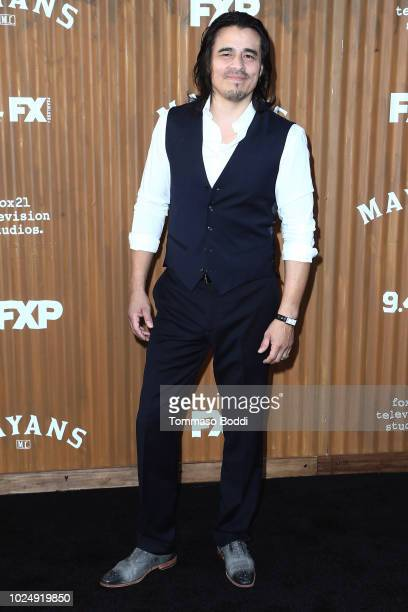Antonio Jaramillo attends the Premiere Of FX's 'Mayans MC' held at TCL Chinese Theatre on August 28 2018 in Hollywood California