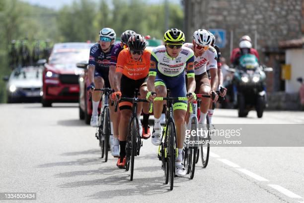 Antonio Jesús Soto Guirao of Spain and Team Euskaltel - Euskadi, Rein Taaramäe of Estonia and Team Intermarché - Wanty - Gobert Matériaux and Lilian...