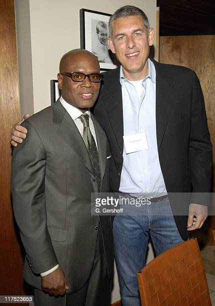 Antonio LA Reid Chairman Island Def Jam Music and Lyor Cohen CEO of Warner Music Group