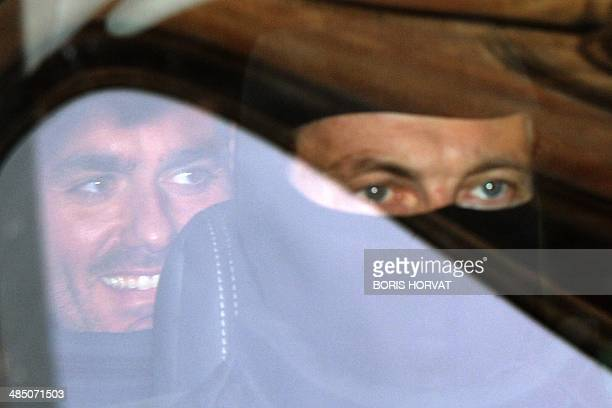Antonio Lo Russo , considered as the most powerful clan leader of the Neapolitan Camorra mafia organization, leaves the Court in Aix-en-Provence,...