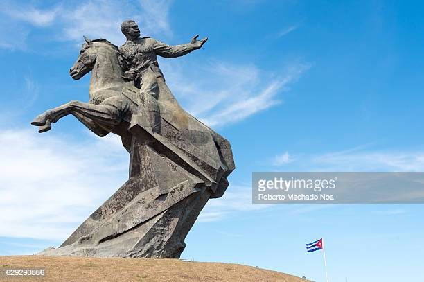 Antonio Maceo bronze statue in the Revolution square The Antonio Maceo Revolution Square is considered the most outstanding monumental in the XX...