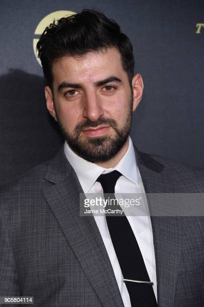 Antonio Magro attends the premiere of TNT's 'The Alienist' at iPic Cinema on January 16 2018 in New York City