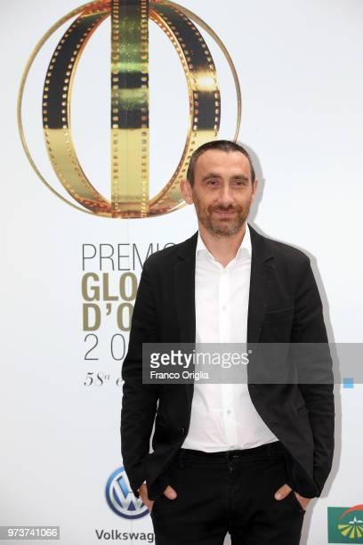 Antonio Manetti attends Globi D'Oro awards ceremony at the Academie de France Villa Medici on June 13 2018 in Rome Italy