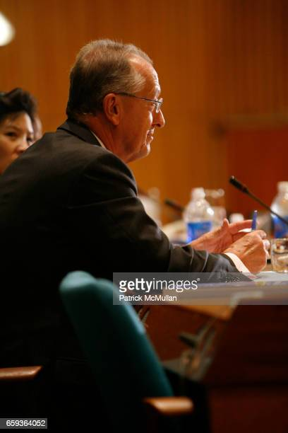 """Antonio Maria Costa attends UNDOC Hosts Discussion and Book Signing for """"HALF THE SKY"""" at United Nations on September 15, 2009 in New York City."""