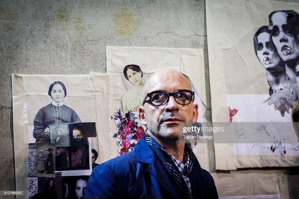 Antonio Marras Backstage Alternative Views - Milan Fashion Week Fall/Winter 2016/17