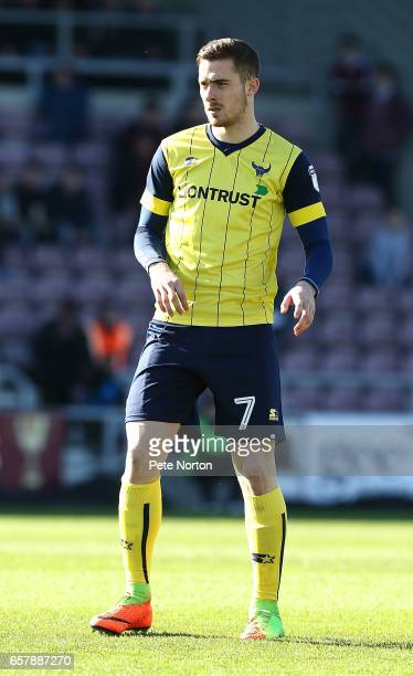 Antonio Martinez of Oxford United in action during the Sky Bet League One match between Northampton Town and Oxford United at Sixfields on March 25,...