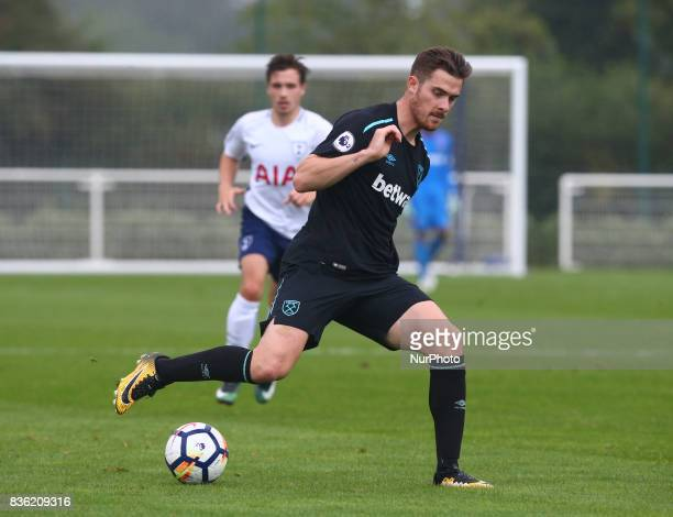 Antonio Martinez of West Ham United Under 23s during Premier League 2 Div 1 match between Tottenham Hotspur Under 23s against West Ham United Under...