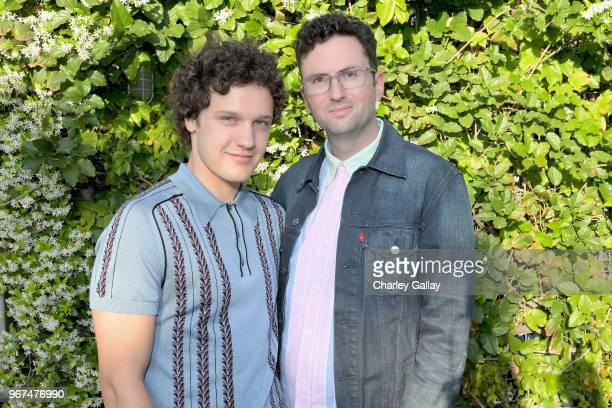 Antonio Marziale and Craig Johnson attend a special screening of the Netflix film Alex Strangelove at the Los Angeles LBGT Center and The Renberg...