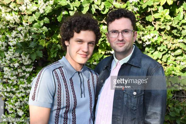 Antonio Marziale and Craig Johnson attend Special Screening And QA For Netflix's 'Alex Strangelove' at Los Angeles LGBT Center on June 4 2018 in Los...