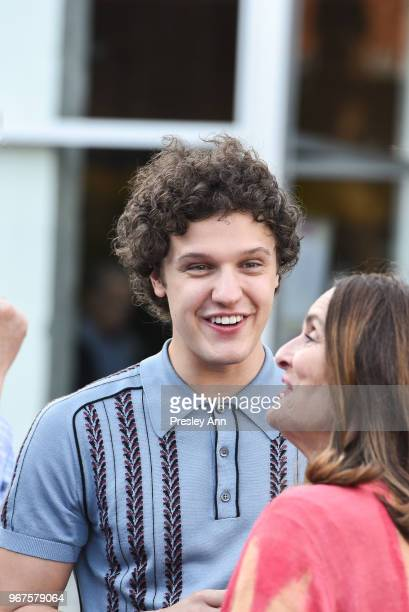 Antonio Marziale attends Special Screening And QA For Netflix's 'Alex Strangelove' at Los Angeles LGBT Center on June 4 2018 in Los Angeles California
