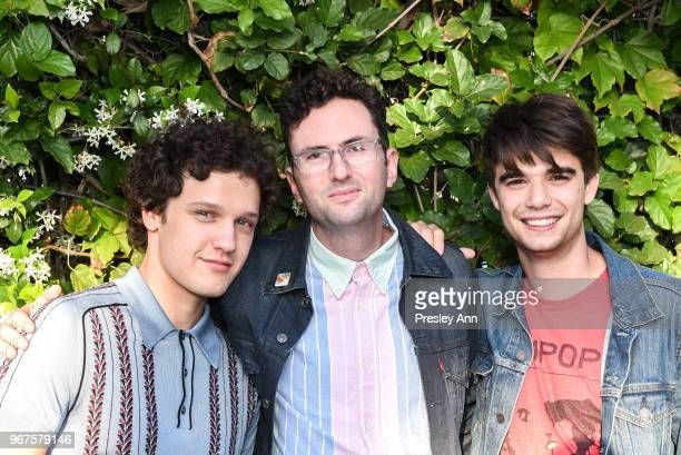 Antonio Marziale Craig Johnson and Daniel Doheny attend Special Screening And QA For Netflix's 'Alex Strangelove' at Los Angeles LGBT Center on June...
