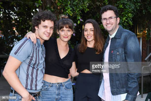 Antonio Marziale Rachel Keller Aubrey Plaza and Craig Johnson attend Special Screening And QA For Netflix's 'Alex Strangelove' at Los Angeles LGBT...