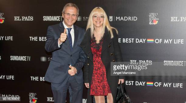 Antonio Miguel Carmona attends 'The Best Day Of My Life' Madrid premiere at Callao cinema on March 13 2018 in Madrid Spain