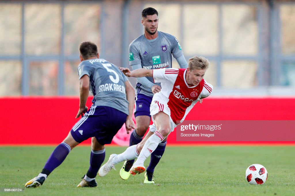 Ajax v Anderlecht - Club Friendly : ニュース写真