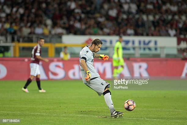 Antonio Mirante during Serie A match between Torino v Bologna in Turin on August 28 2016