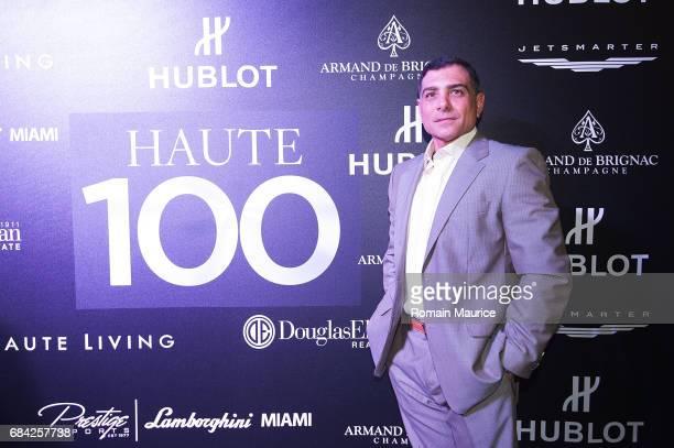 Antonio Misuraca attends the Haute Living Miami's Annual Haute 100 Dinner Presented By Hublot And Prestige Imports at Miami Design District Palm...