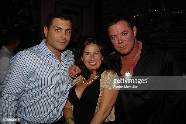 Antonio Misuraca Jacquelynn Powers Shareef Malnik at The Forge on April 5 2006 in Miami Beach Florida
