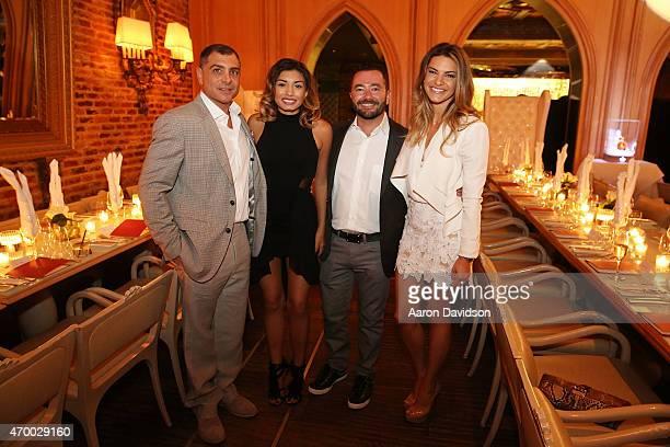 Antonio Misuraca Jocelyn Monthlong Bobby Yampolsky and Tory Thomas attend Louis XIII Cognac Hosts Celebration In Honor Of Haute Living CEO Kamal...