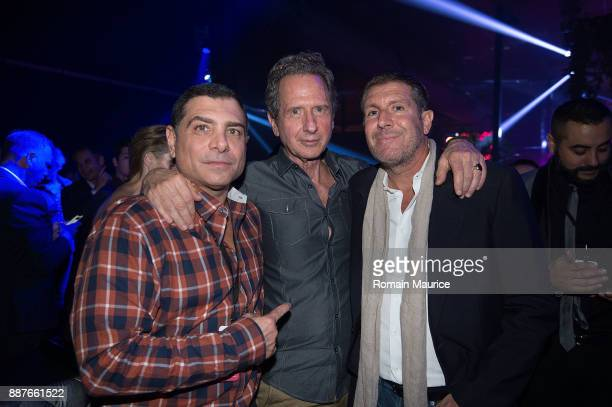 Antonio Misuraca Rick Lazes Michael Capponi are seen at Inlist 3rd Anniversay Party During Art Basel Miami Beach 2017 on December 6 2017 in Miami...