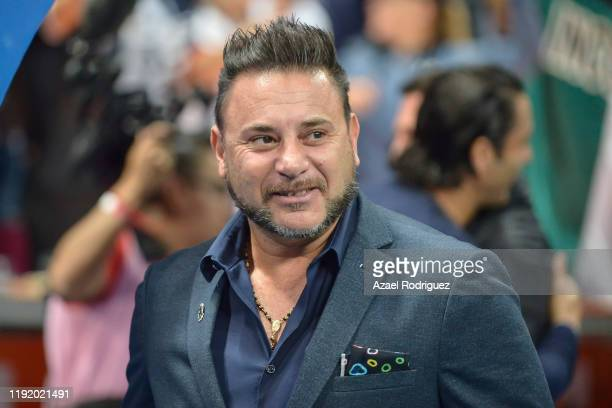 Antonio Mohamed coach of Monterrey looks on prior the Semifinals first leg match between Monterrey and Necaxa as part of the Torneo Apertura 2019...