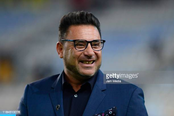 Antonio Mohamed Head Coach of Monterrey smiles prior the 16th round match between Pachuca and Monterrey as part of the Torneo Apertura 2019 Liga MX...