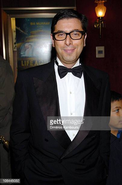 "Antonio Monda during ""The Life Aquatic with Steve Zissou"" New York Premiere - Inside Arrivals at Ziegfeld Theater in New York City, New York, United..."