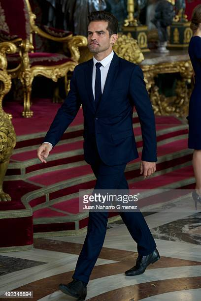 Antonio Najarro attend Spain's National Day royal reception at Royal Palace in Madrid on October 12 2015 in Madrid Spain