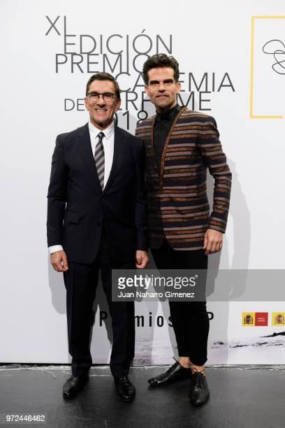 Antonio Najarro attends 'Academia del Perfume' awards 2018 at Circulo de Bellas Artes on June 12 2018 in Madrid Spain