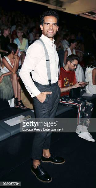 Antonio Najarro attends Devota Lomba show at Mercedes Benz Fashion Week Madrid Spring/ Summer 2019 on July 9 2018 in Madrid Spain on July 9 2018 in...