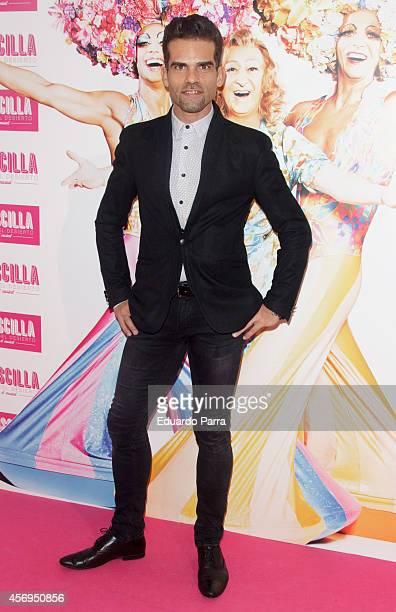 Antonio Najarro attends 'Priscilla Queen of the Desert' premiere photocall at Nuevo teatro Alcala on October 9 2014 in Madrid Spain