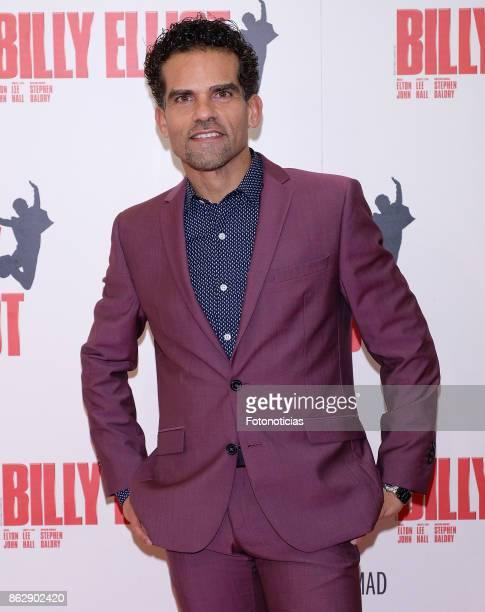 Antonio Najarro attends the 'Billy ElliotEl Musical' premiere at Nuevo Alcala Theater on October 18 2017 in Madrid Spain