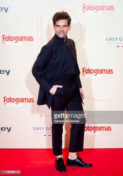 Antonio Najarro attends the Fotogramas Awards 2019 at Florida Park Club on March 04 2019 in Madrid Spain