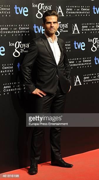 Antonio Najarro attends the Goya Cinema Awards Nominated party on January 19 2015 in Madrid Spain