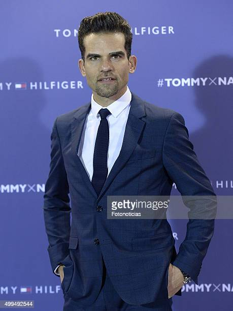 Antonio Najarro attends the presentation of Rafel Nadal as Tommy Hilfiger Global Ambassador at the Palacio de Cibeles on December 1 2015 in Madrid...