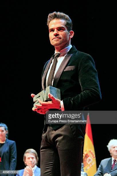 Antonio Najarro attends the 'Teather' 2013 award from Madrid Regional President Ignacio Gonzalez on December 2 2014 in Madrid Spain