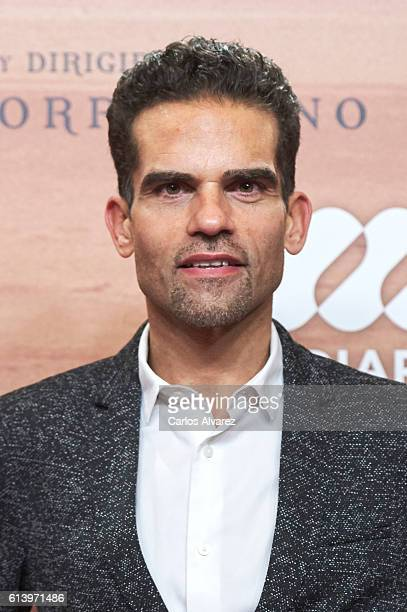 Antonio Najarro attends 'The Young Pope' premiere at the Palafox cinema on October 11 2016 in Madrid Spain