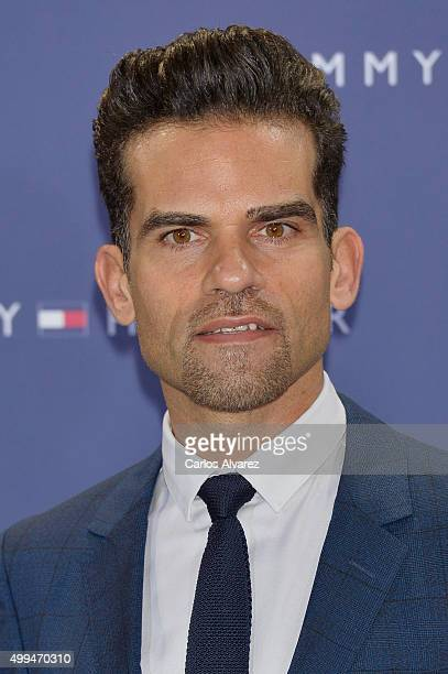Antonio Najarro attends Tommy Hilfiger event at the Cibeles Palace on December 1 2015 in Madrid Spain